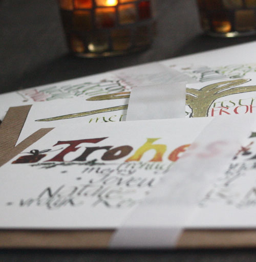 Kalligrafie Schriftkunst Individuelle Papeterie Atelier